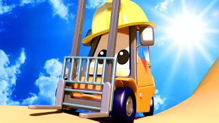 Police car for kids -  Baby Francis Goes MISSING at the Construction Site - Car Patrol in Car City !