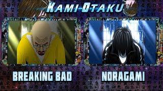 Comparación Oficial Breaking Bad Opening 1 Y Noragami Opening 2