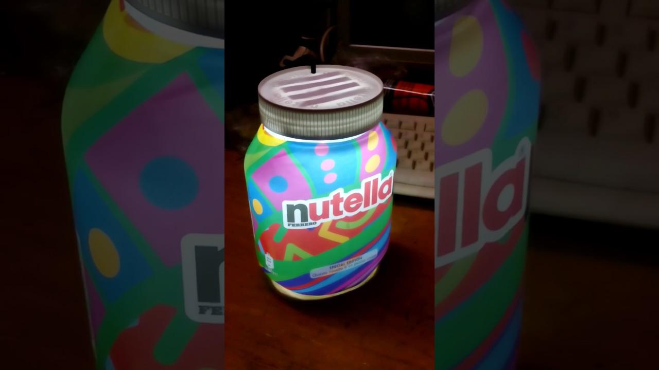 Lampada Barattolo Nutella Concorso : Lampada barattolo nutella u2013 idea dimmagine di decorazione
