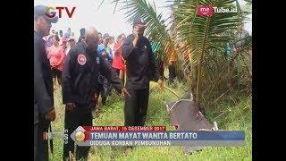 [Geger] Seorang Wanita Bertato Ditemukan Tewas Setengah Telanjang Di Pantai Pangandaran - BIP 16/12