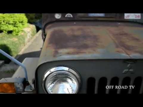 Фото к видео: Mitsubishi Jeep J56 Rat Style