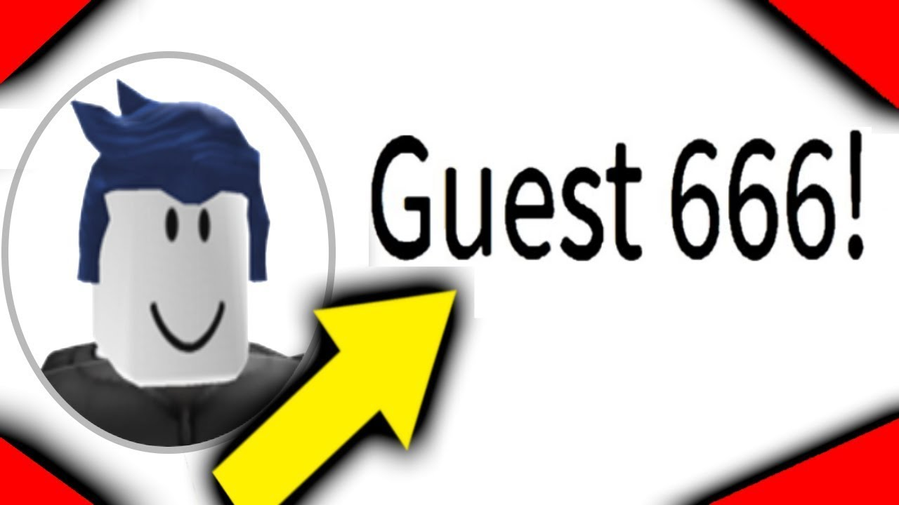 How To Become Guest 666 On Roblox Youtube