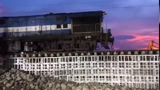 Bihar Flood 2017, First Trial Train Mumbai-Thane Vs Sudhani-Telta Bihar