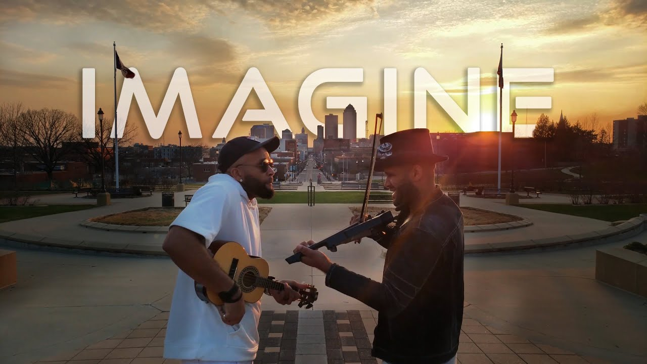 John Lennon Imagine At Sunset Violin And Ukulele Cover B2wins Beyond Music