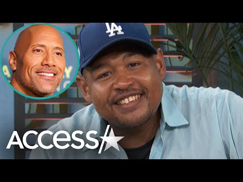 Omar Miller Calls Working With Dwayne 'The Rock' Johnson 'Incredible'