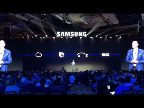 CES 2018: Samsung's Media Day Press Conference - lots of new tech!