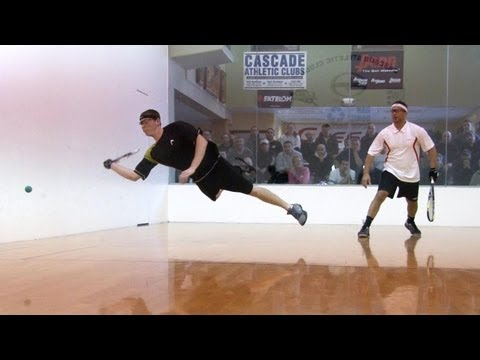 Racquetball Slow Motion Test