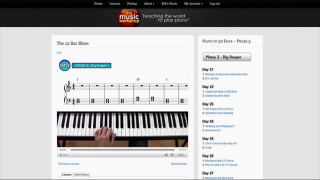 Homeschool Music Curriculum - Piano - YouTube