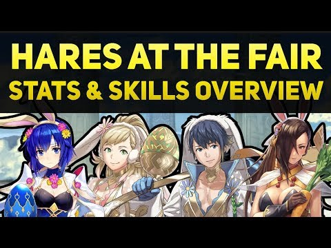 Hares at the Fair Banner - Stats & Skills Overview (Spring 2018 Seasonal Banner) | FEH Guide