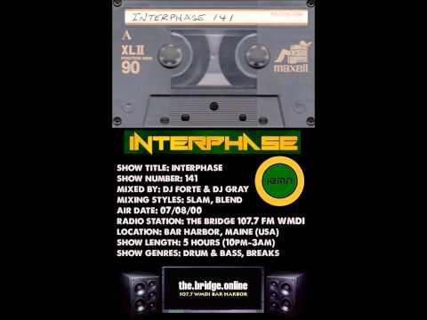 INTERPHASE - Show #141 (07/08/00) - The Bridge 107.7 FM Bar Harbor, ME (USA) - Drum & Bass, Breaks
