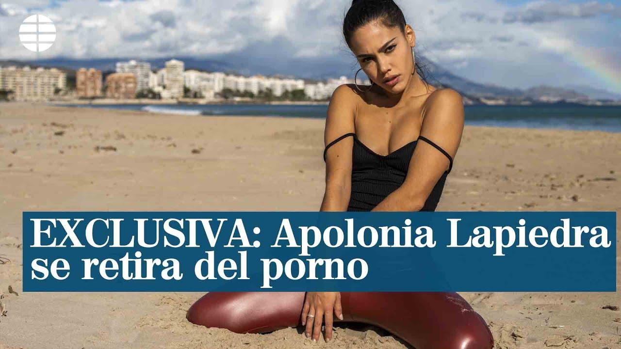 Actriz Porno Estadounidense Se Retira exclusiva: apolonia lapiedra se retira del porno