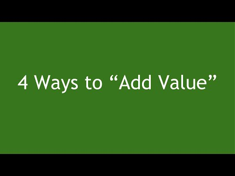"4 Ways to ""Add Value"" (Ethical Reasons To Increase Your Prices)"