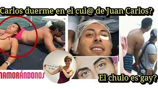 Carlos el Chulo es homosexual? Fotos con Carlos strepper de Enamorandonos en su tracero duerme feliz