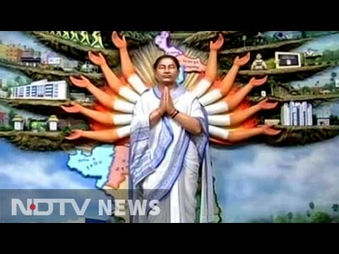 Didi As Durga? Mamata Banerjee With 12 Arms