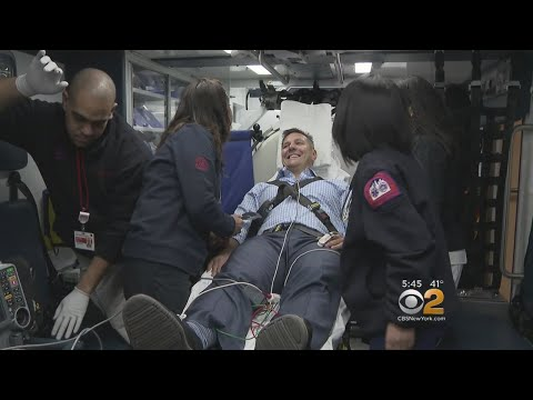 State-Of-The-Art Ambulance Provides Critical Help For Stroke Victims