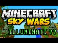 Minecraft- SkyWars: Illuminati ??!!