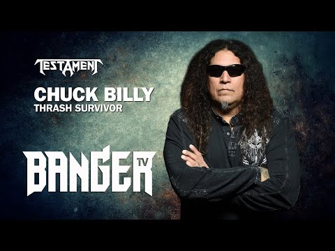 Chuck Billy of Testament Interview | Metal Giants