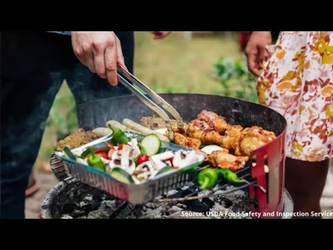 Cookout food safety for the Memorial Day holiday