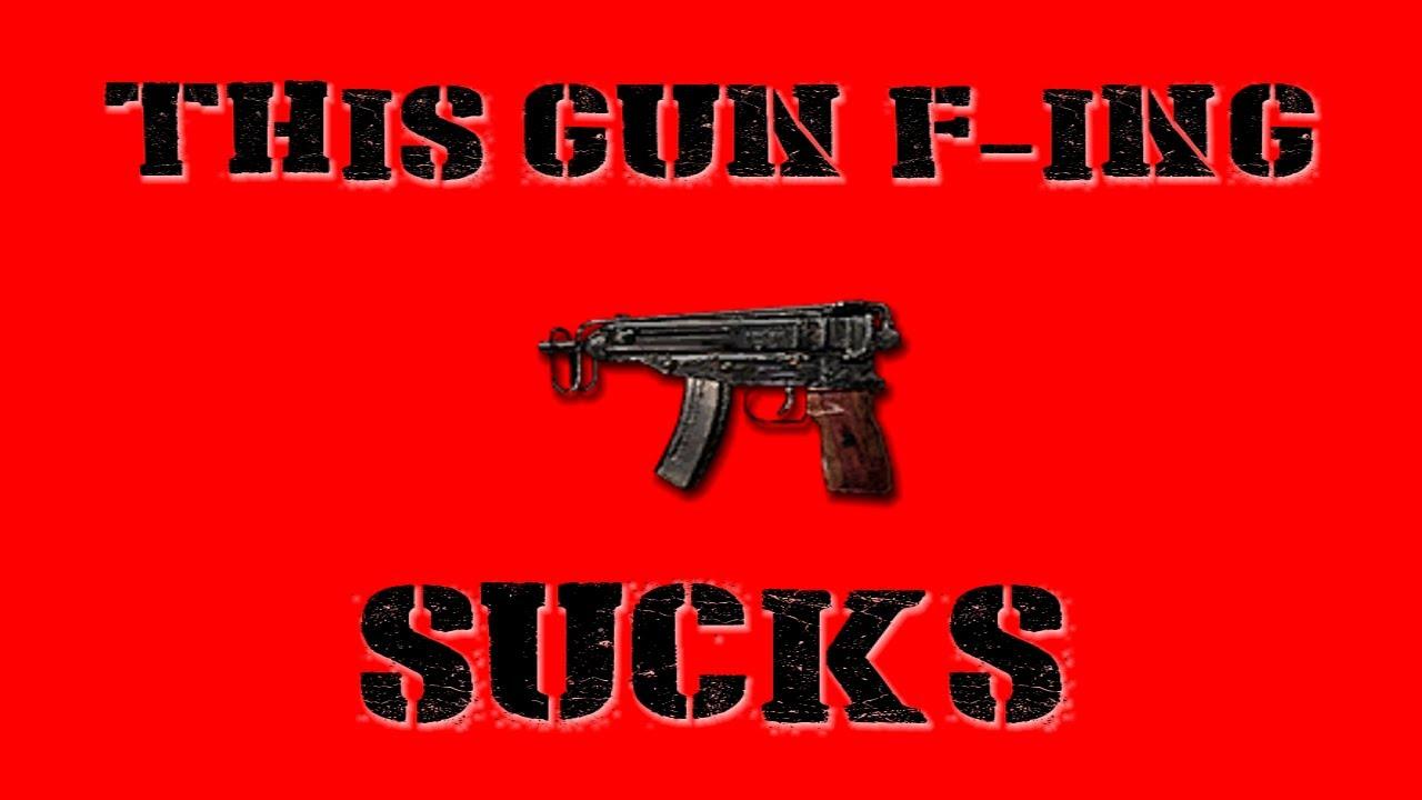 This Gun F-ing Sucks Skorpion  - Buy American