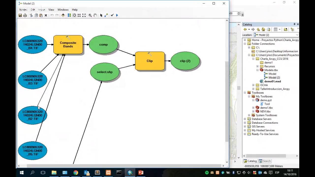Potencia tu ArcGIS Desktop con herramientas personalizadas (ArcGIS + Python)