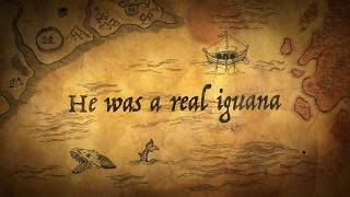 Mr  Green the Pirate Iguana Book Trailer