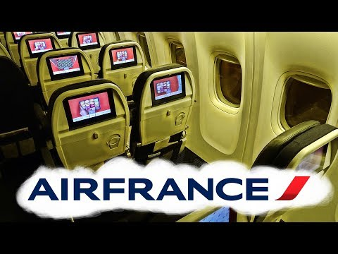 PULLED AN ALL NIGHTER ON AIR FRANCE | PARIS-LOS ANGELES | ECONOMY CLASS | BOEING 777-200