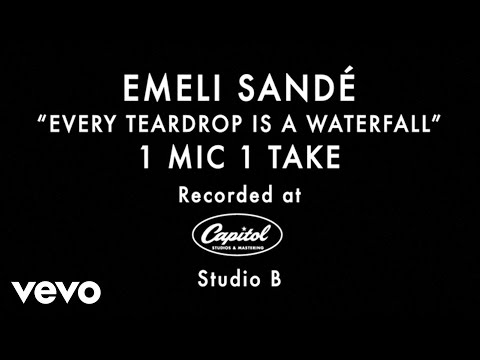 Emeli Sandé - Every Teardrop Is a Waterfall (1 Mic 1 Take)