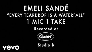 Emeli Sandé - Every Teardrop Is a Waterfall (1 Mic 1 Take)
