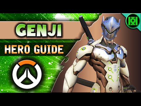Overwatch: GENJI Guide In-Depth | Hero Abilities + Character Strategy | Genji Tips & Tricks