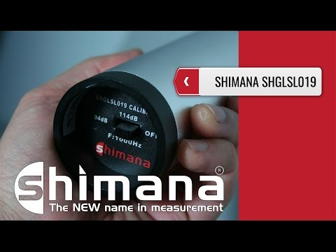 SHIMANA SHGLSL019 - Sound Level Calibrator (product Video Presentation)