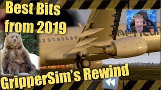 Flight Sim Best Clips from 2019 | REWIND | X-Plane 11 | DCS | MS2020 | il2