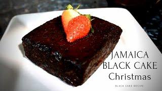 Jamaican Black Fruit Cake Tips #ChristmasCake