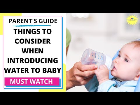 Baby Water Supplement Feeding Guidelines