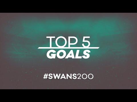 Swans TV - SWANS200 - Top 5 Goals