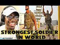 (Veteran REACTS TO) STRONGEST Soldier In Army Gym - Diamond Ott | Muscle Madness REACTION!