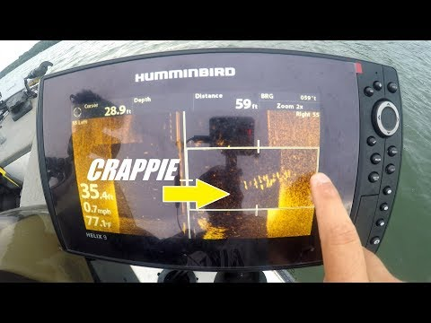 How To Locate Crappie With Side Imaging Sonar