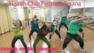 "Gambar cover Dangdut ""Gak Mau Pulang Maunya Digoyang"" (Iva Lola) Dance Fitness and Fun Choreo by Sri Andayani"