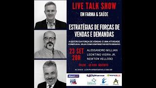 TALK SHOW - 23 SETEMBRO 2020 - ESTRATÉGIAS DE FORÇAS DE VENDAS E DEMANDAS FARMA