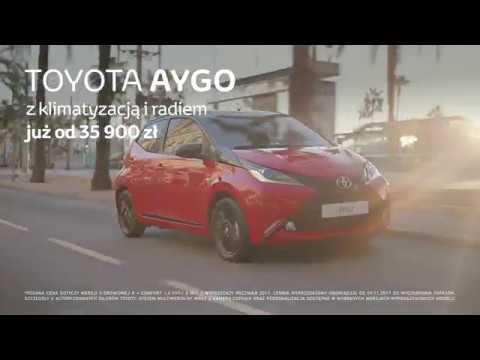 AYGO: pięciodrzwiowa Toyota teraz już za 35 900 zł.