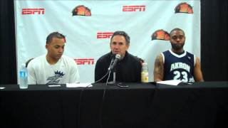 Alex Abreu & Coach Keith Dambrot Press Conference at PR Tip-Off; BoricuasBallers.com