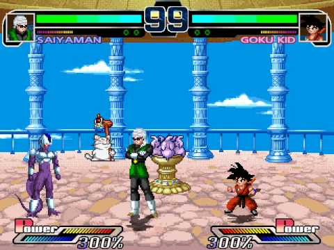 Dragon Ball Z M.U.G.E.N Edition 2011 Gameplay (2011)  by RistaR87