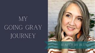 My Going Gray Journey!