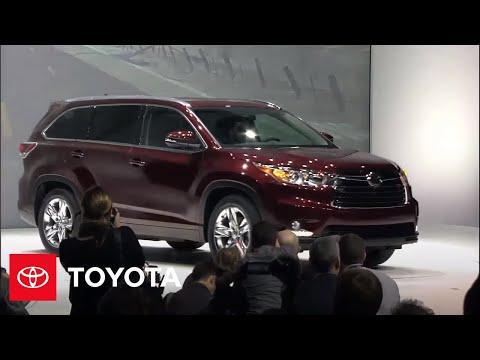 Toyota Reveals All-New 2014 Highlander at New York Auto S   Toyota