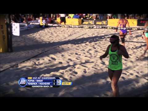 AVP - Women's Finals At Huntington Beach