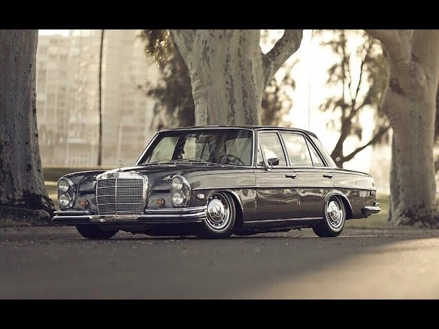 Tuning Mercedes Benz 280SE W108 Stance