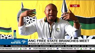 ANC Free State branches brief the media
