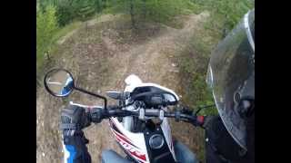 Yamaha WR125R | Offroad Tongrube | GoProHD