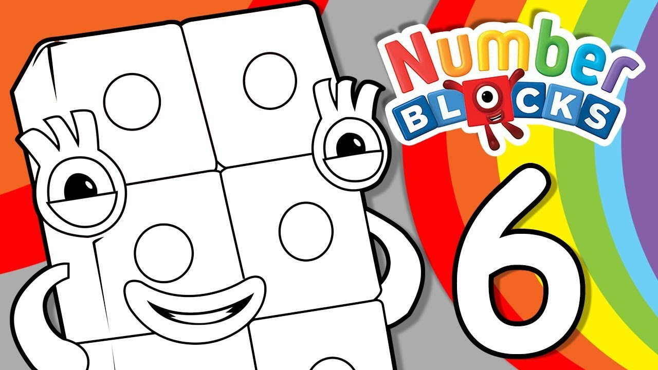 coloring pages counting numbers youtube - photo#14