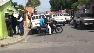 Fuerzas de seguridad tomaron el sector San Vicente de Aragua