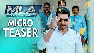 MLA official teaser|| Kalyan Ram|| Kajal Agarwal